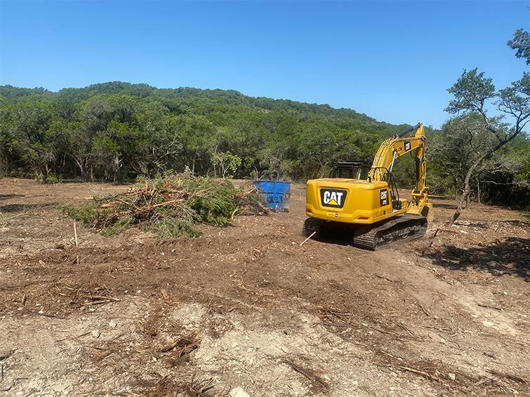get land bulldozed