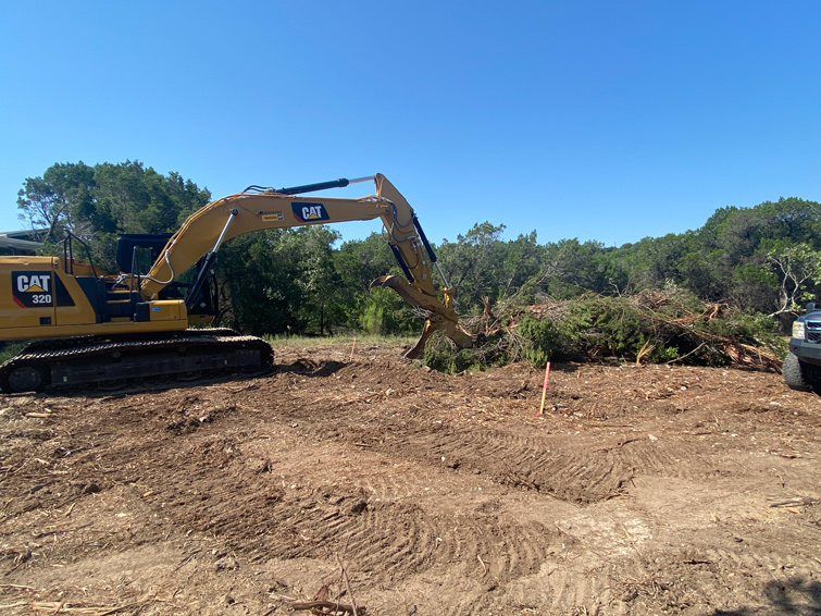land and lot clearing services