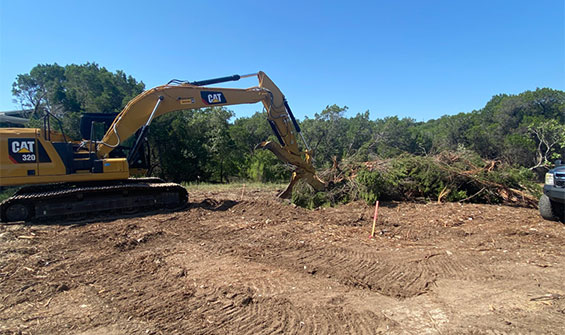 land lot clearing service austin